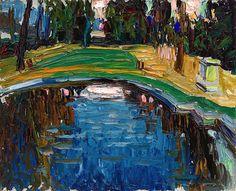 Vasily Kandinsky, Pond in the Park (Parkteich), ca. 1906