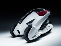 Honda concept car for one driver.