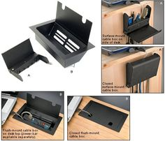 Hide The Cables That Clutter Your Desk   Toolmonger