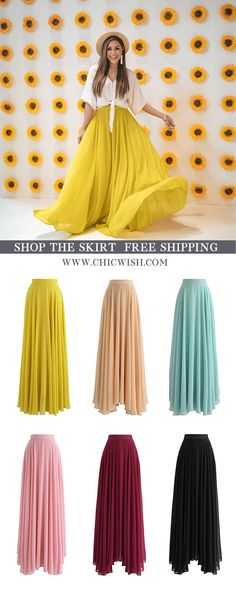 Search results for: 'Timeless Favorite Chiffon Maxi Skirt' - Retro, Indie and Unique Fashion Modest Fashion, Unique Fashion, Skirt Fashion, Hijab Fashion, Fashion Dresses, Mode Unique, Mode Simple, Chiffon Maxi, Maxi Skirt Style