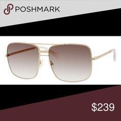 c7cda849cab9 Celine Aviator sunglasses 😎 Celine oversized Gold pink Aviator sunglasses  New condition. 100% authentic