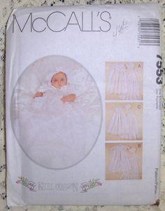 McCalls Infant Christening /Baptism Dress by thecraftspottoshop