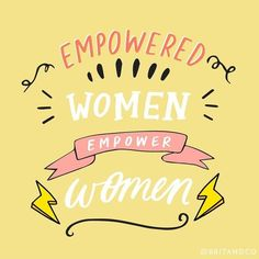 Empowered women empower women- I love this inspiring feminist quote! Quotes To Live By, Me Quotes, Motivational Quotes, Inspirational Quotes, Boss Quotes, Sport Quotes, Girly Quotes, Quotes Positive, Famous Quotes