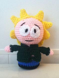 "Crochet Amigurumi ""South Park"" Inspired Tweek Doll by ShimmereeCreations on Etsy #etsy #crochet #amigurumi #southpark #tweek #doll #plush"