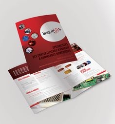 Plaquette commerciale réalisée pour Brightloop