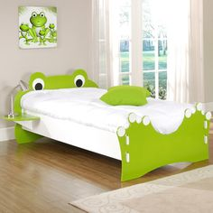 Found it at AllModern - Frog Twin Panel Bed