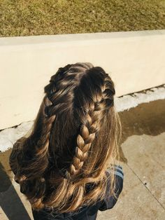 Ideal&Eazy % Hair Styles Glamorous And Eazy French Hair Braids Shaved Side Hairstyles, Quiff Hairstyles, Pretty Hairstyles, Braided Hairstyles, Braided Locs, Ethnic Hairstyles, Workout Hairstyles, Hairstyles 2018, Girls Short Haircuts