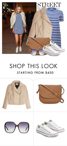 """""""Top Street Style"""" by fashionwholesalecity ❤ liked on Polyvore featuring T By Alexander Wang, Tory Burch, Victoria Beckham and Converse"""