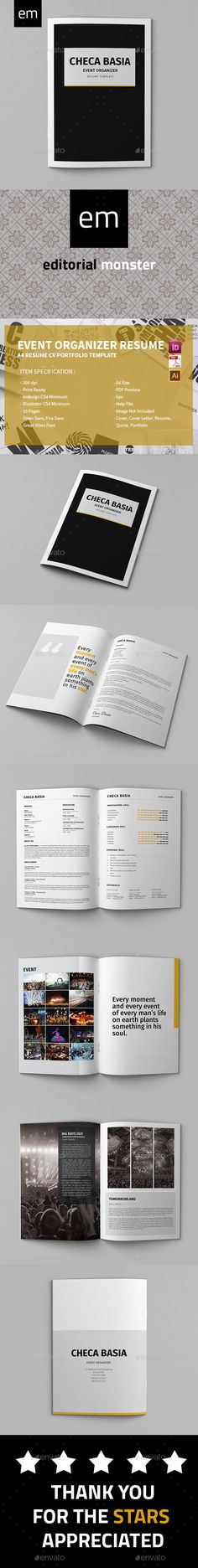 MixMaker - DJ Resume \/ Press kit PSD Template Press kits, Psd - dj resume