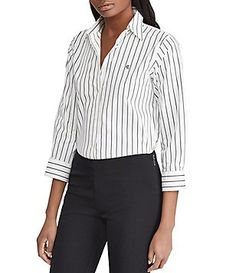 51e28436dd3640 Antonio Melani Nellie Collared Blouse Bodysuit. See more. Lauren Ralph  Lauren No-Iron Button-Down Shirt Button Downs, Button Down Shirt