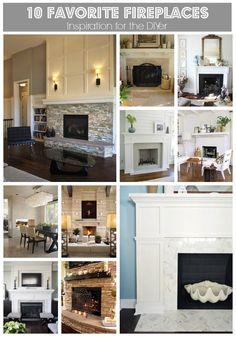Lilikoi Joy: 10 Favorite Fireplaces - Inspiration for the DIYer