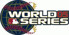 MLB World Series Primary Logo (2005) - 2005 World Series - Chicago White Sox 4, Houston Astros 0
