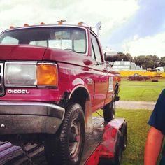 Truck pulls ! Love ford ;)