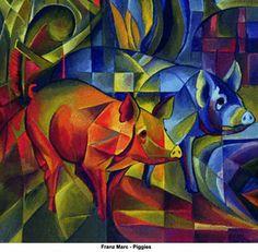 Google Image Result for http://img.artknowledgenews.com/files2008a/FranzMarc_Piggies.jpg