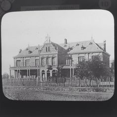 Magic Lantern Slide Vintage Johannesburg Transvaal  The Law Courts South Africa