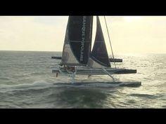 Banque Populaire V at 41 knots!
