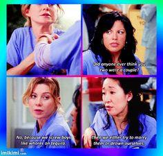 Grey's Anatomy :D LOL!!