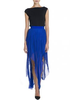 Willow Layered Tulle skirt in head turning blue #colour #bright #blue #willow #layers #style