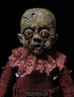 https://flic.kr/p/948Vuo | Griselda – Zombie Art Doll | Griselda – Zombie Art Doll #12  OOAK Art Doll. 8.25 inches tall. Mixed media.  Copyright © 2010, Shain Erin. All rights reserved.