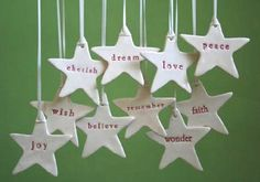 Handmade Christmas Decorations | Andie's World                                                                                                                                                     More
