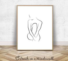 Naked woman sketch & Female body art & Modern nude drawing & Naked lady poster & Sexy Wall Decor & Black, white, minimal, printable art The post Nude Woman Sketch Kunst Tattoos, Body Art Tattoos, Sexy Tattoos, Art Noir, Female Body Art, Woman Sketch, Woman Drawing, Art Moderne, Art Abstrait