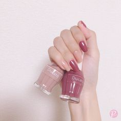 New Must Try Fall Nail Designs And Ideas - Sayfa 12 / 58 - trend nail ideas! Perfect Nails, Gorgeous Nails, Pretty Nails, Korean Nail Art, Korean Nails, Red Nails, Swag Nails, Nail Manicure, Nail Polish
