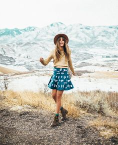 The Colors in the Mountains | Grasslands | Outfit | Tessa Barton Photography