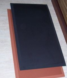 The Next Generation Gel-Anti-fatigue Kitchen Mats, Flat Black Rubberized Gel Foam, new thicker, new edges. Wide By Long. Reduce the Standing Pressure on Back, Leg and Foot for Increase Kitchen Comfort - any Work Space Kitchen Rugs And Mats, Anti Fatigue Kitchen Mats, Disability Help, Kitchen Utilities, Post Date, Gadgets And Gizmos, Program Design, Table Linens, Really Cool Stuff