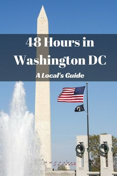 A Locals Guide to 48 Hours in Washington DC - From contemporary galleries, to public parks, to local breweries housed in nondescript buildings, to one delicious meal after the other, here's everywhere she took us.