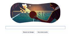 Doodle tenis de mesa - Google #Londres2012