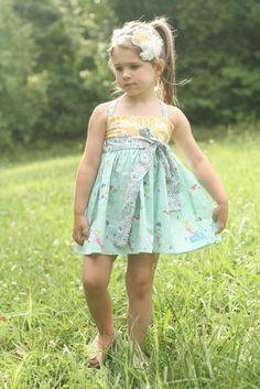 Mermaid Fun. Jordan K Clothing, girl's boutique clothing! #mermaid