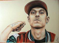 Hip hop & disegno: ecco i ritratti dei rapper | Hiphopmadeinita.it - hip hop…