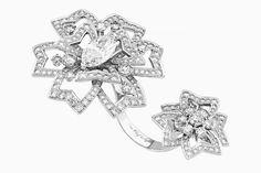 Украшения Van Cleef & Arpels: зимняя коллекция Contes d`Hiver Van Cleef And Arpels Jewelry, Van Cleef Arpels, Full Finger Rings, Color Ring, Jewel Box, Conte, Heart Ring, Jewelry Design, Jewels