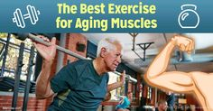 High-intensity interval training (HIIT) can improve age-related decline in muscle mitochondria, an effect that was particularly pronounced in older exercisers. http://fitness.mercola.com/sites/fitness/archive/2017/05/05/exercise-for-aging-muscles.aspx