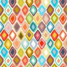 "Almas diamond ikat light fabric by scrummy on Spoonflower - custom fabric Scale is 8""x8"""