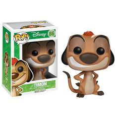 Buy Disneys The Lion King Timon Funko Pop! Vinyl from Pop In A Box Canada, the home of Funko Pop Vinyl collectibles figures and other Funko goodies! Disney Pop, Disney Pixar, Film Disney, Funk Pop, Funko Pop Marvel, Pop Vinyl Figures, Lion King Timon, Lion King Toys, Funko Pop Dolls