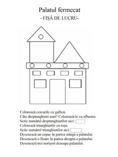 Scolarel& world .: geometric shapes (worksheet)- Lumea lui Scolarel…: Forme geometrice(fișă de lucru) Scolarel& world …: geometric shapes (worksheet) - Shapes Worksheets, Worksheets For Kids, Activity Sheets, School Lessons, Preschool Activities, Projects For Kids, Teacher Resources, Geometric Shapes, Classroom