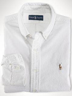A simple white oxford shirt is a great staple to have in any wardrobe! It can be dressed down for business casual with slacks, or dressed up for professional attire with a suit!
