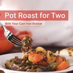 Braiser Recipes, Roast Recipes, Slow Cooker Recipes, Thanksgiving Recipes, Fall Recipes, Dinner Recipes, Recipes For Two, Cookbook Recipes, Cooking Recipes