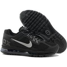 http://www.asneakers4u.com/ Discount Nike air max 2013 for sale mens&womens shoes black