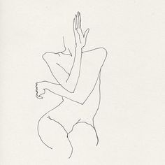 Woman dancing with her hands - Etude from 2005 #fredericforest: