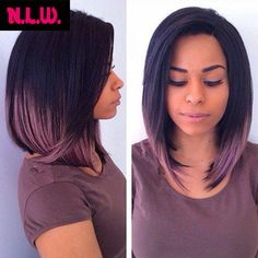 cut bobs and color for black women - Google Search