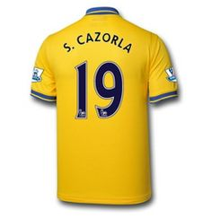 Arsenal Maillot Foot Exterieur 2013 2014 Nike Collection(19 S.Cazorla) http  5bc3c5fae