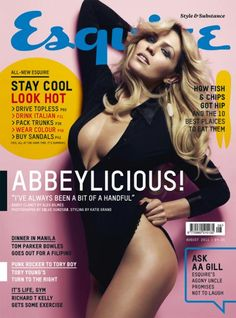 Esquire UK, Abbey Clancy