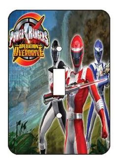 Power Rangers Switch Light Cover