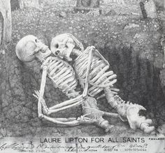 Laurie Lipton For AllSaints. |