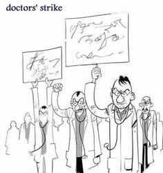 의사들의 파업