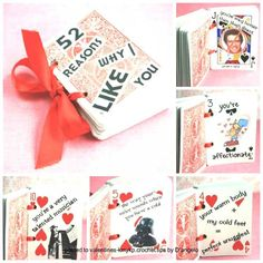 17 Last Minute Handmade Valentine Gifts for Him. In this post you will see 17 unique and very simple last minute handmade valentine gifts for him. Try these ideas to give him a pleasant surprise and bring a smile on his face. Diy Valentines Gifts For Him, Unique Valentines Day Ideas, Handmade Valentine Gifts, Valentine Day Cards, Happy Valentines Day, Valentines Anime, Valentines Surprise, Valentines Sweets, Kids Valentines