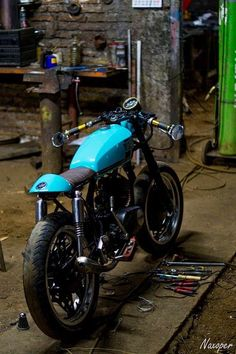 Mercenary Garage  This bike featured on MERCENARY a while back and has generated…