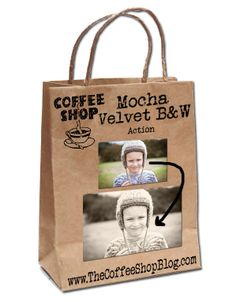The CoffeeShop Blog: CoffeeShop Mocha Velvet B&W Action!
